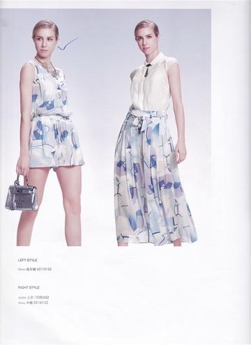 2020香港品牌艺素国际夏装精品女装尾货批发