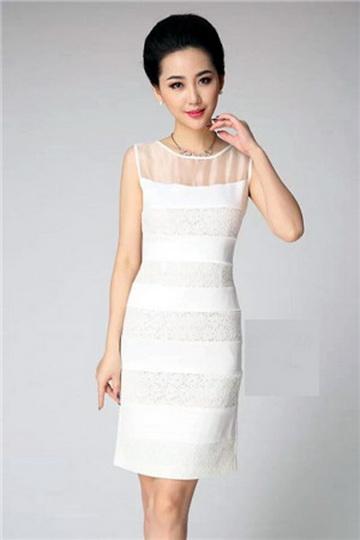 2020新款欧美风格放牛班的春天纯连衣裙特价