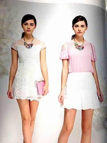 村上春2020夏装新款雪纺衫女短袖印花连衣裙走份批发