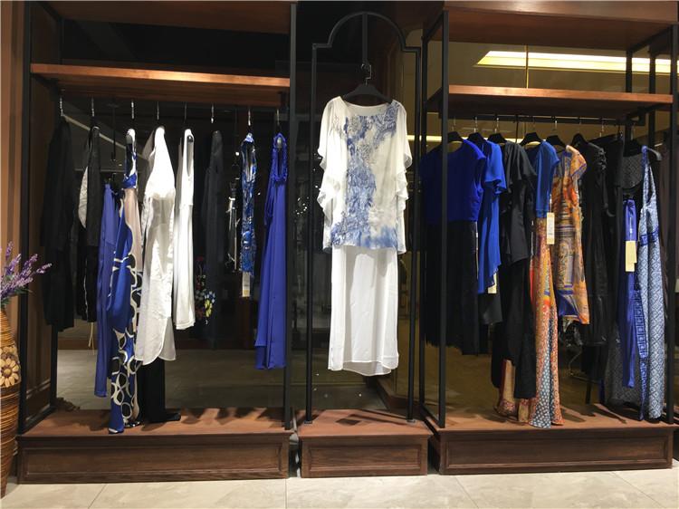 香港格子廊春夏女装批发一线高档品牌折扣女装