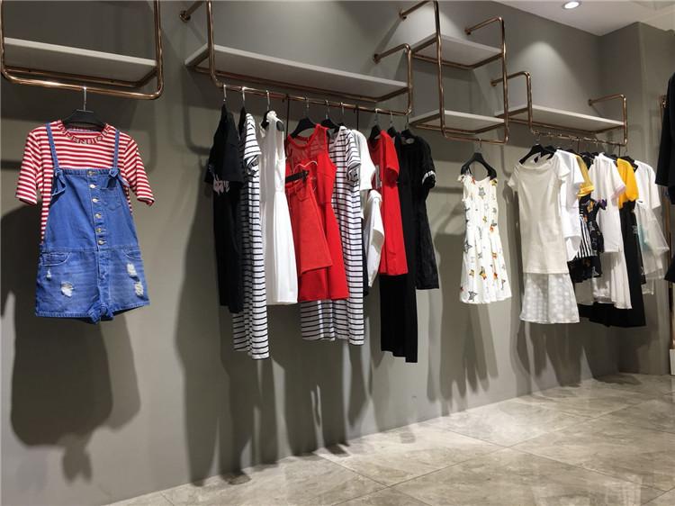 杭州一线淑女折扣女装品牌乐町20年夏装批发