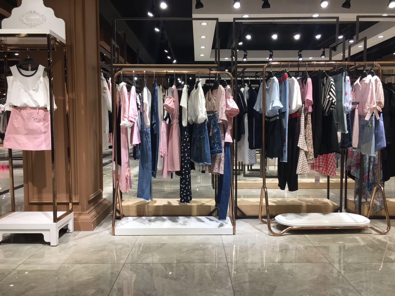 欧韩风格密斯丽20夏一线品牌女装折扣批发