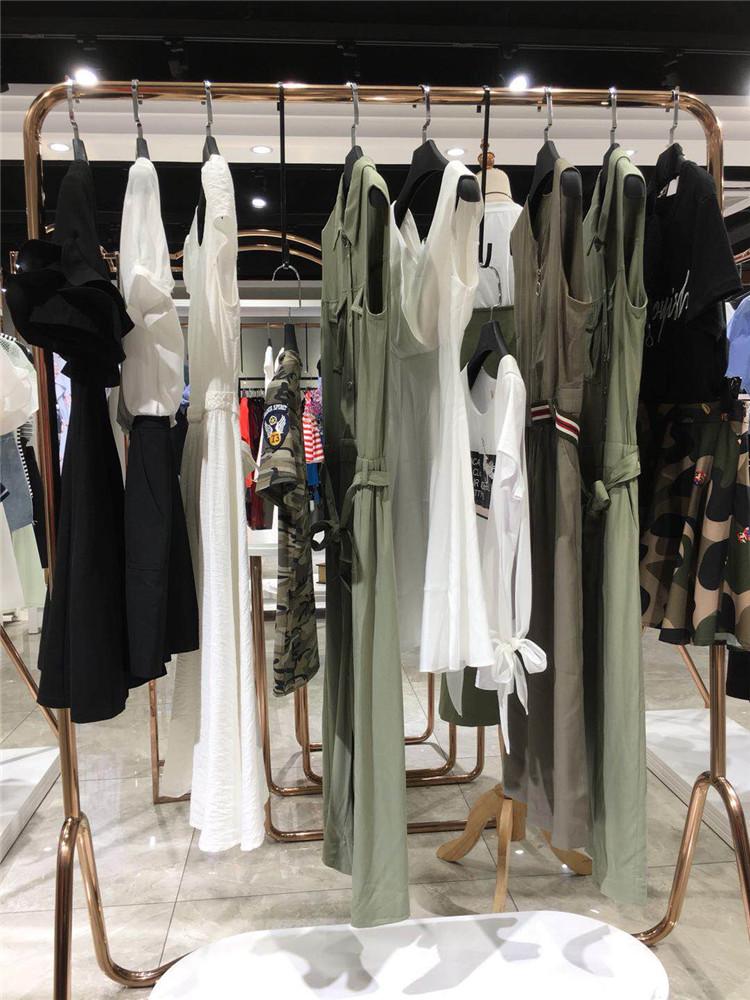 抖音直播品牌女装魔美名作20夏装欧美折扣女装多种款式货源