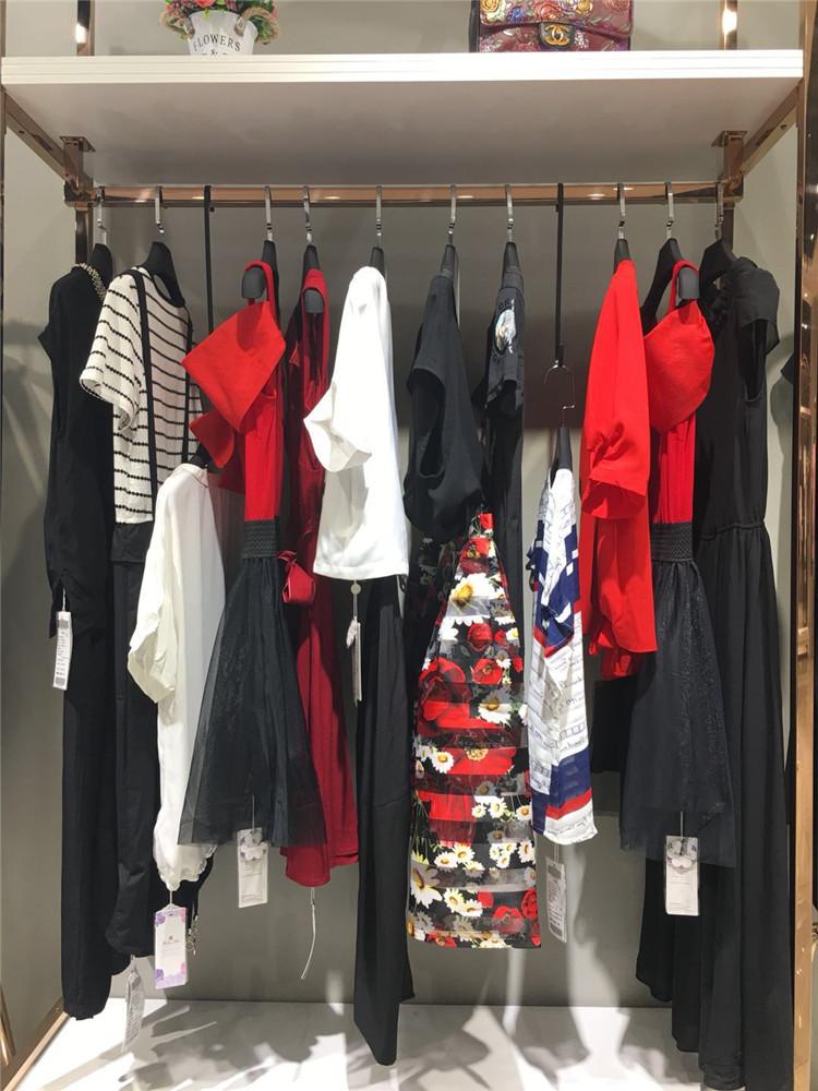 电商直播女装货源米莱夏装一手货源批发新款走份专柜正品