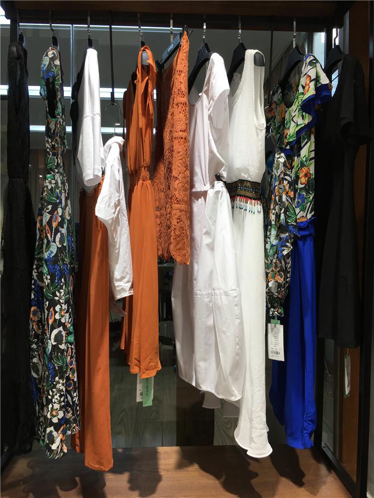 伊袖夏季2020新款女装正品商场同款支持视频看货