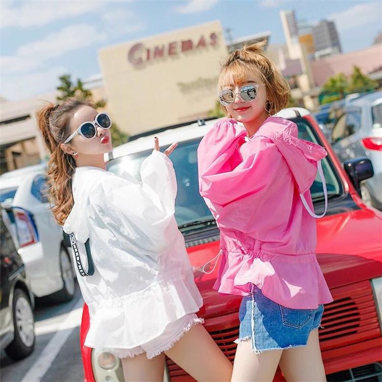 2020夏季新款防晒衣男女款薄外套潮时尚长袖防晒服