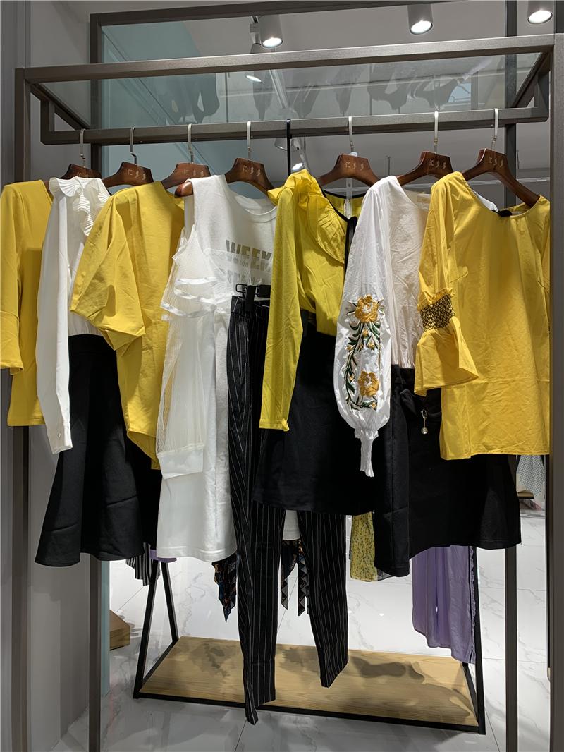 2020春季新款撞色连衣裙女装厂家批发厂家直销直播女装一手货源