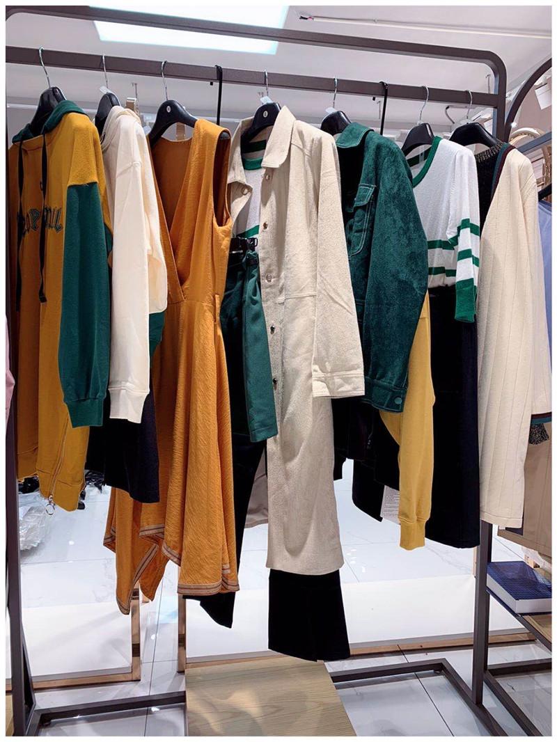 20年春夏深欧美原创时尚品牌折扣女装直播货源走份批发直播女装一手货源