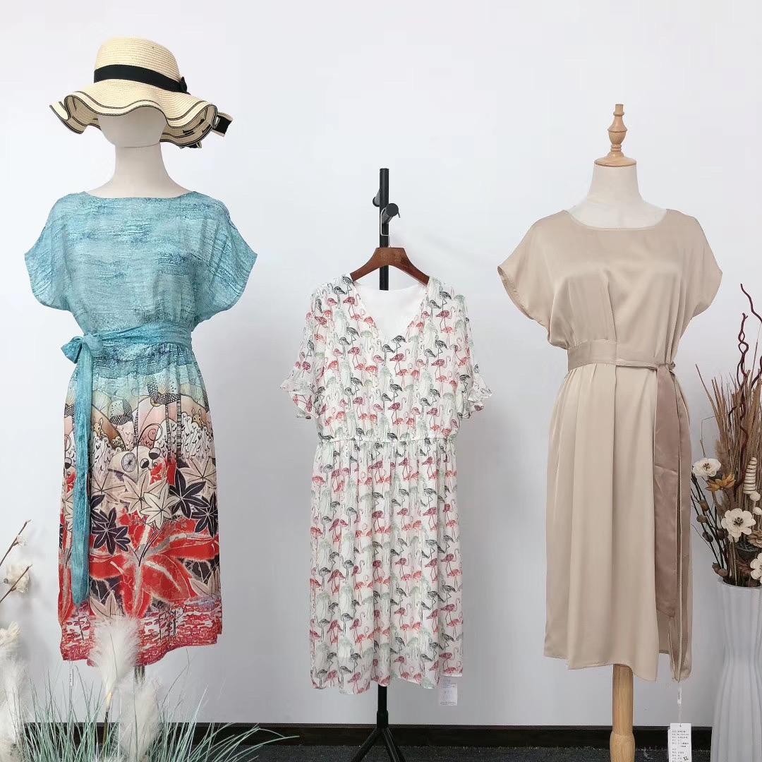 凯撒贝雷品牌折扣女装批发专柜正品货源渠道直播女装一手货源