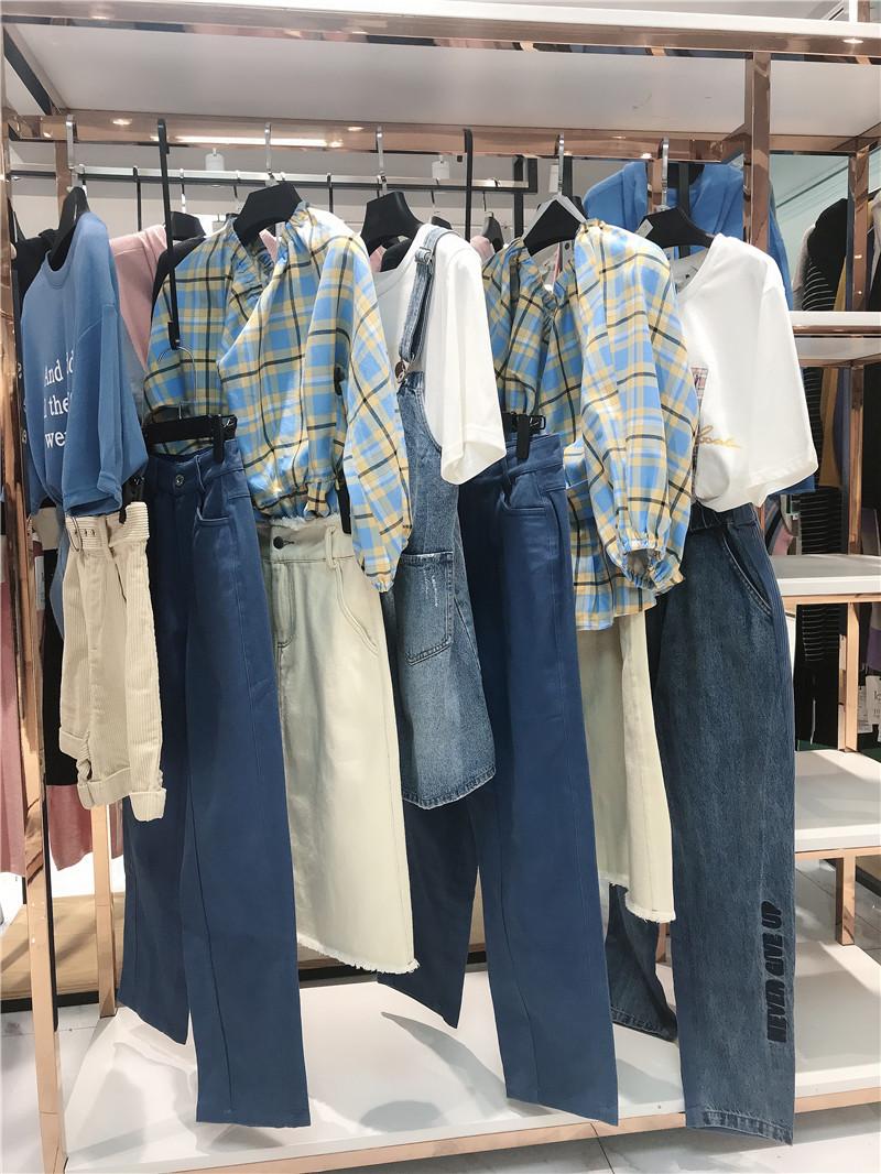 新作品牌折扣服装厂家货源服装代理直播女装一手货源