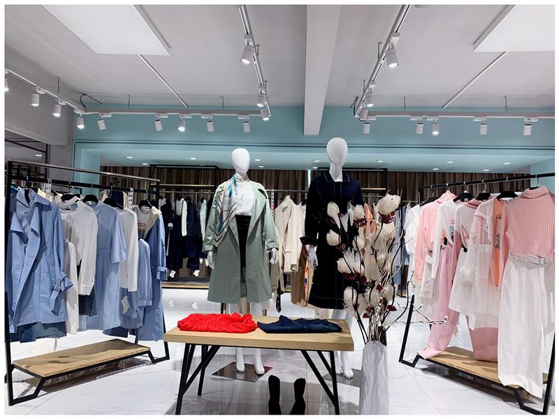 艺素国际女装品牌折扣店专柜正品货源渠道直播女装一手货源