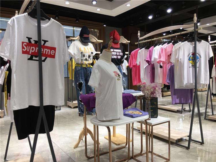 天香品牌折扣女装货源应季夏款时尚T恤