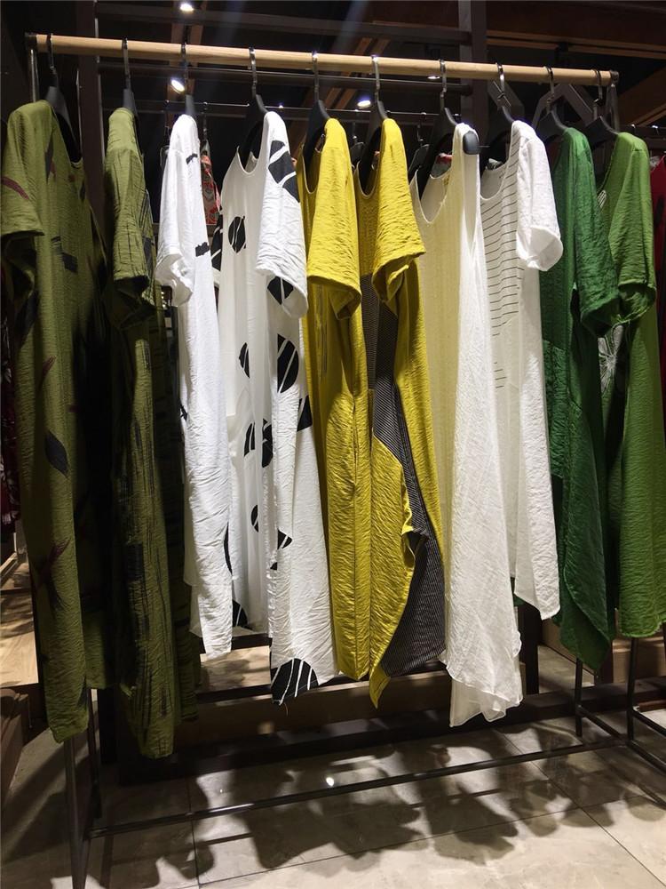 2020夏装风信子欧美女装大码连衣裙