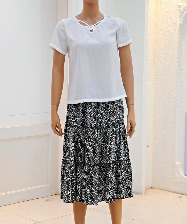 艾薇儿汉派品牌折扣2020年夏季批发折扣女装尾货哪里拿货