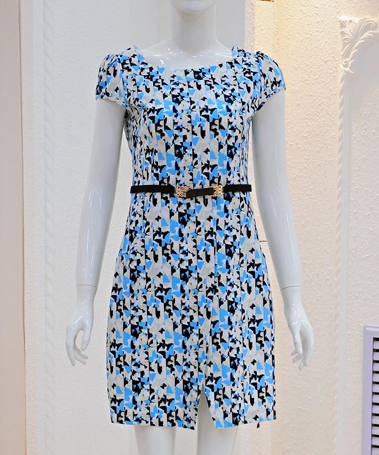 芙瑞轩折扣连衣裙品牌女装批发广州折扣女装折扣女装尾货哪里拿货