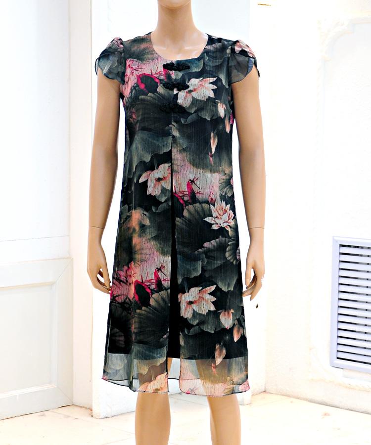 靓姿屋时尚折扣连衣裙时尚品牌女装批发折扣女装尾货哪里拿货