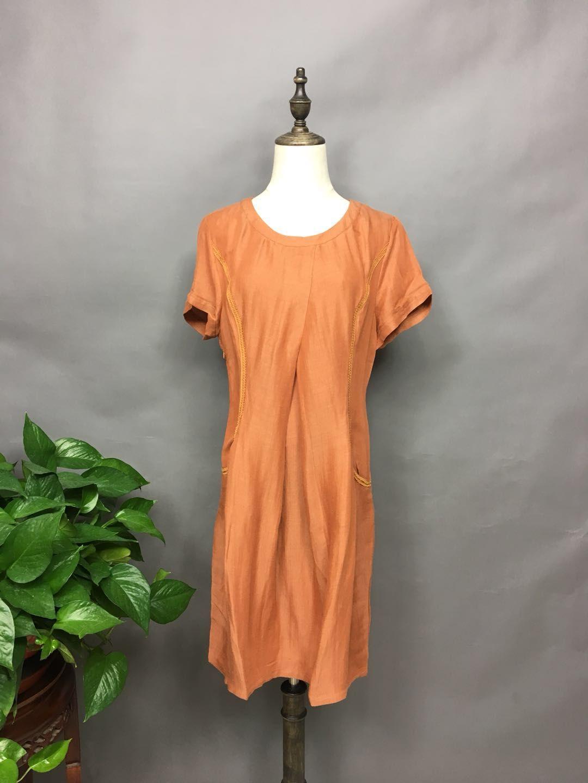 一布百布2020年夏装时尚折扣批发折扣女装尾货哪里拿货