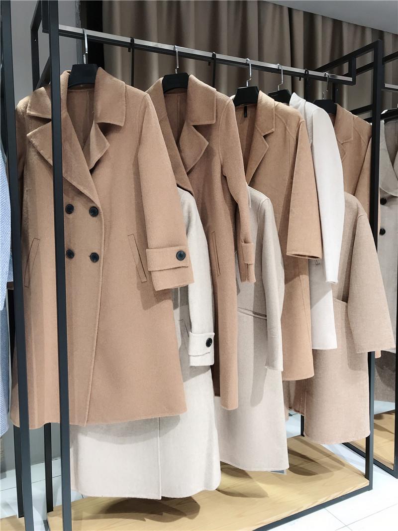 向葵双面呢品牌折扣服装生产厂家货源代理抖音直播女装货源
