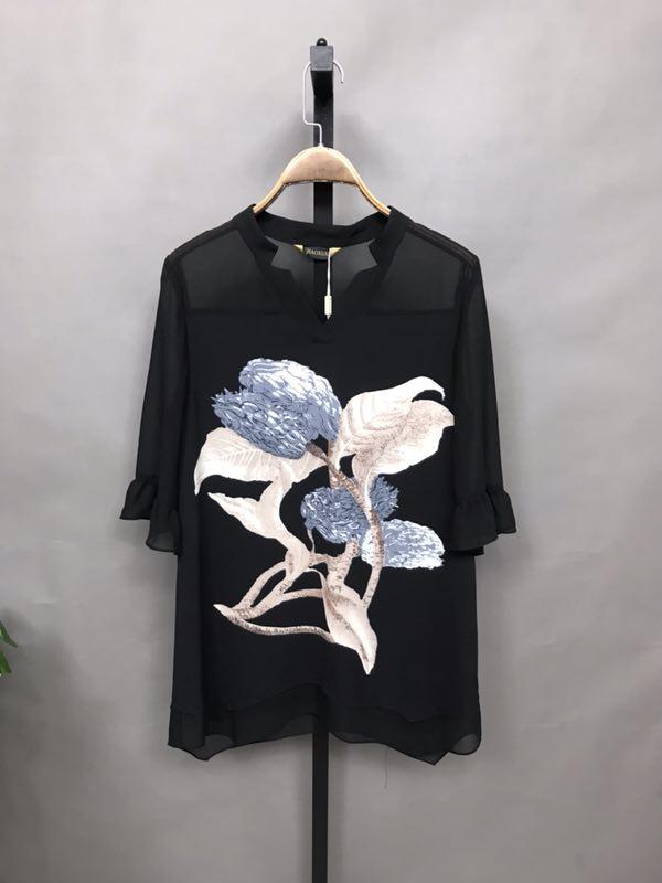 飘轩2020年品牌折扣夏装时尚女装批发折扣女装尾货哪里拿货