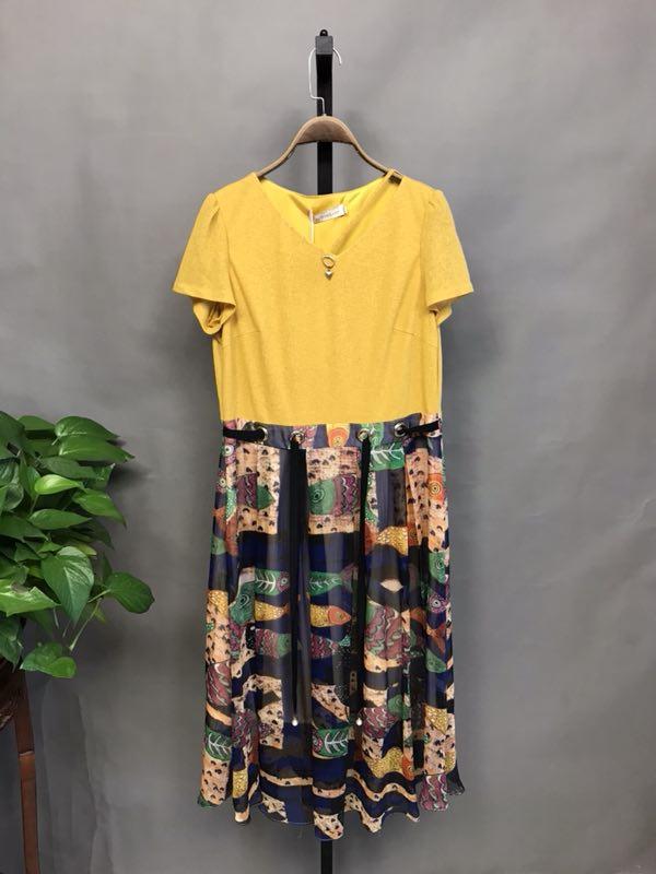 依美瑞2020品牌夏装批发时尚品牌折扣女装折扣女装尾货哪里拿货