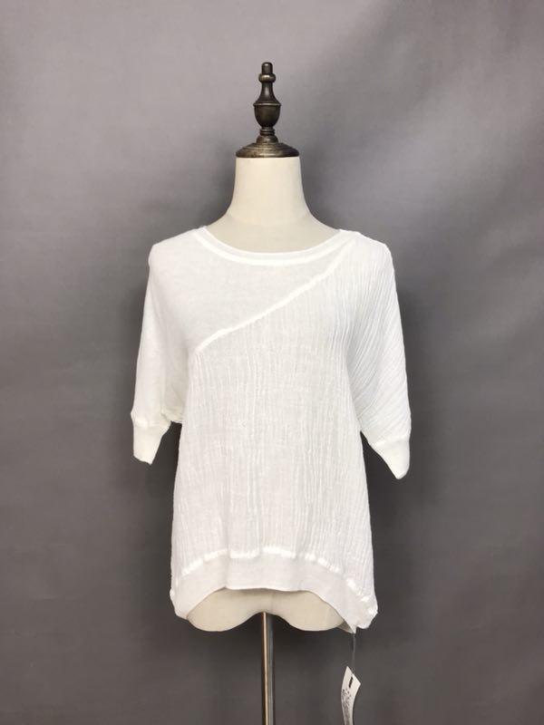 雪丹枝时尚休闲棉麻品牌女装批发折扣女装尾货哪里拿货