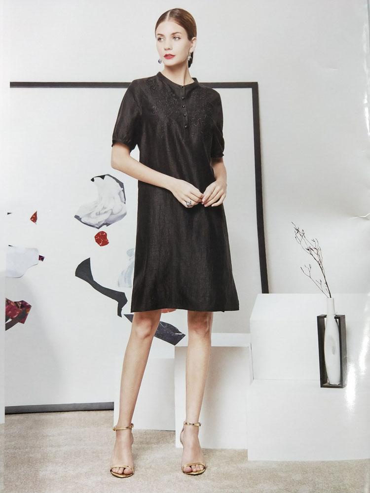世纪蓝天桑蚕丝2020年春夏秋冬季节女装批发服装货源折扣女装尾货哪里拿货