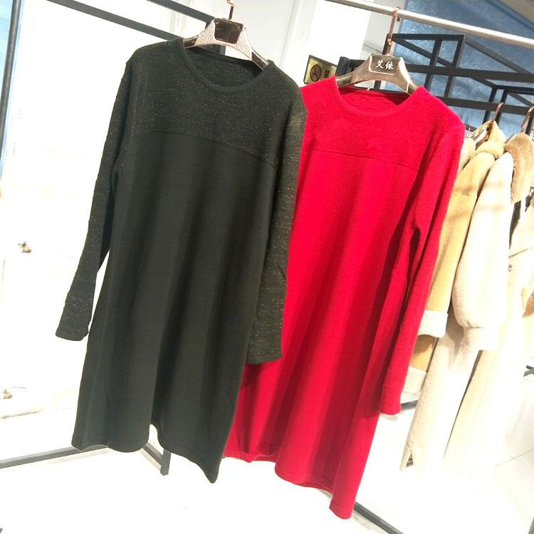 广州品牌打底毛衫时尚女装折扣女装尾货哪里拿货