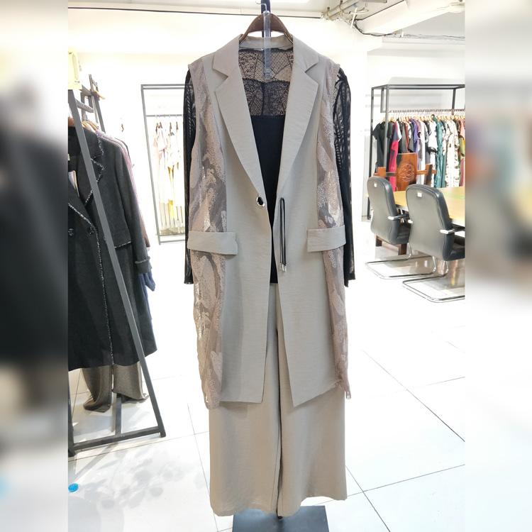 女人屋女装品牌折扣尾货库存批发服装货源折扣女装尾货哪里拿货