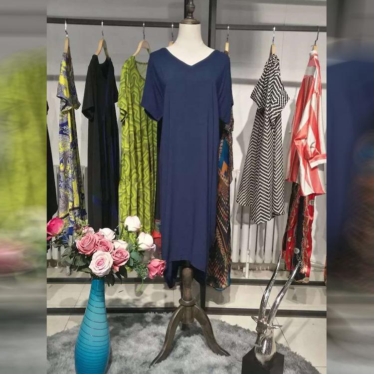 晴天明月2020年夏季女装品牌折扣批发折扣女装尾货哪里拿货