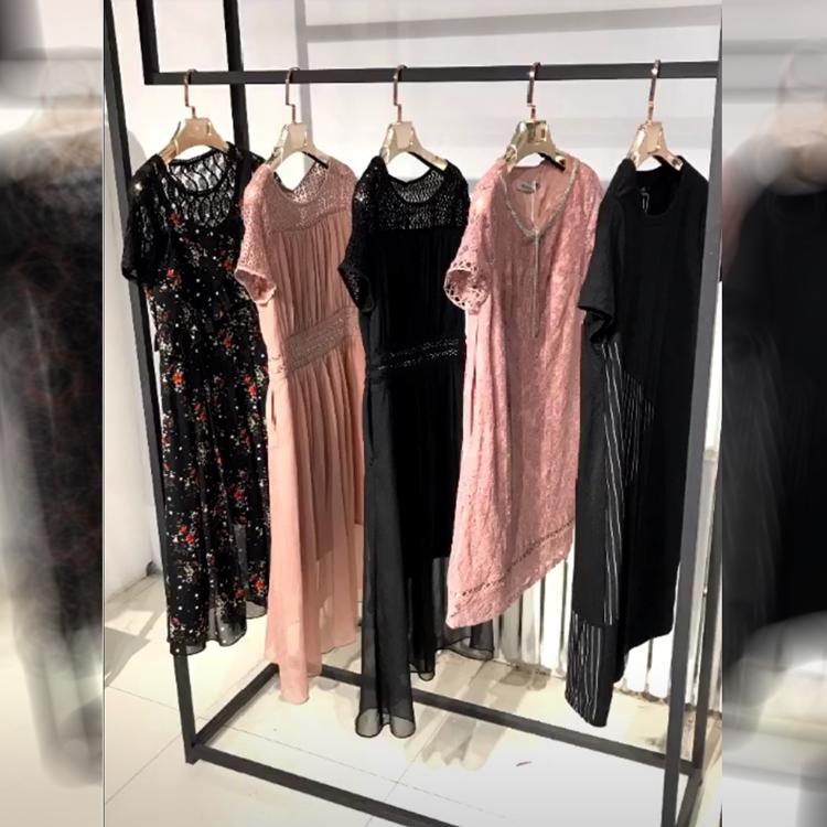 艾德琳娜2020年夏装汉派女装连衣裙上衣品牌折扣批发折扣女装尾货哪里拿货