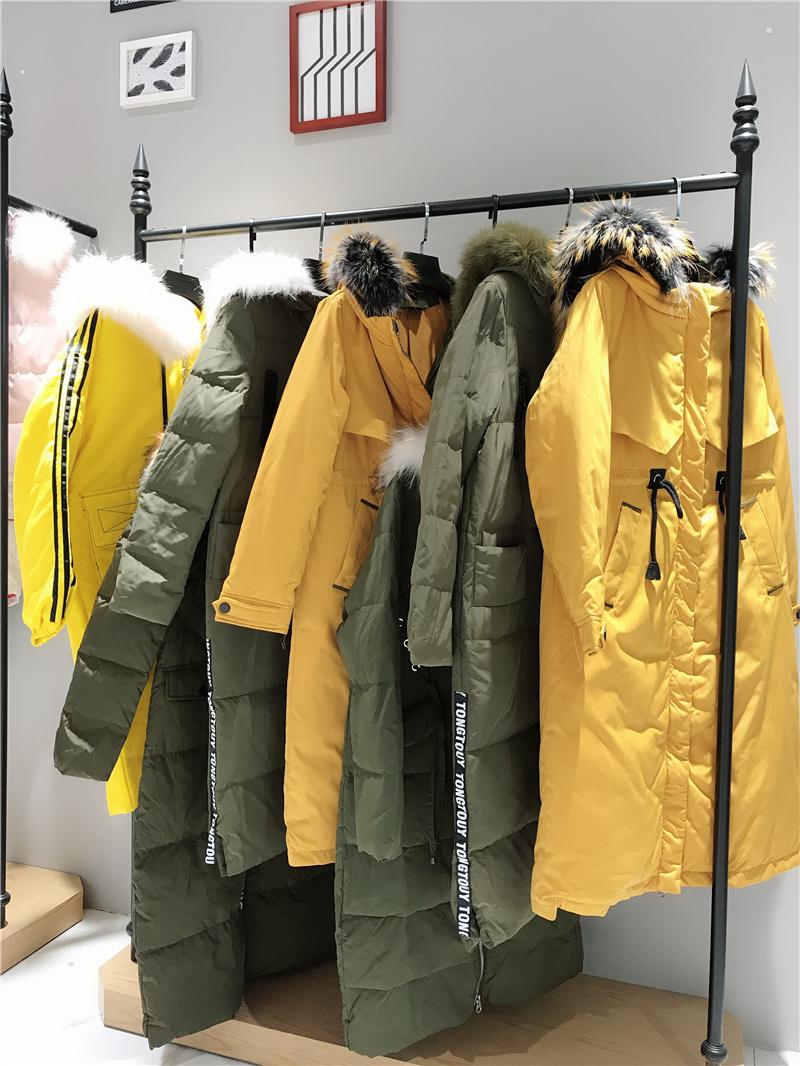 桑色羽绒服品牌折扣服装厂家货源服装代理抖音直播女装货源