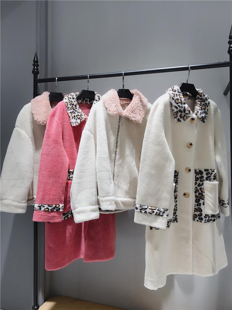 颗粒绒大衣女装品牌折扣店专柜正品货源渠道抖音直播女装货源