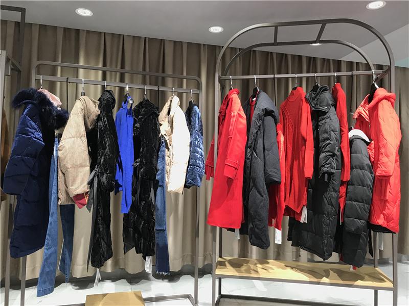 哥邦GEBANG品牌折扣女装批发专柜正品清仓货源抖音直播女装货源