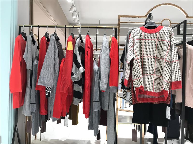 MISS宝姿毛衣品牌折扣店女装专柜正品货源渠道抖音直播女装货源