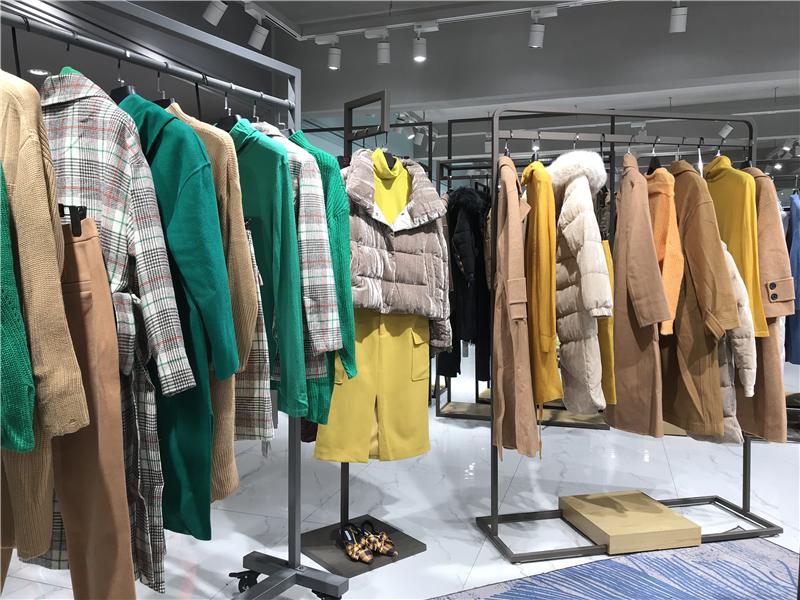 哥邦杭州品牌女装折扣店厂家货源服装代理抖音直播女装货源